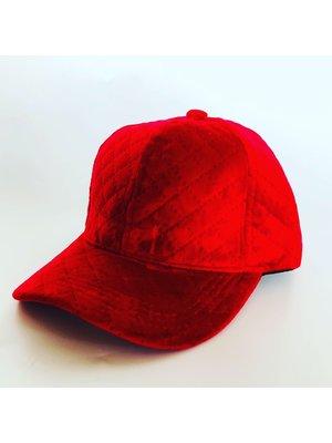 Red Velvet Cap