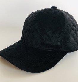 Juleeze Black Velvet Cap