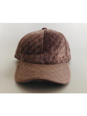 Juleeze Pink Velvet Cap