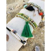 Armbandje Koraal Groen
