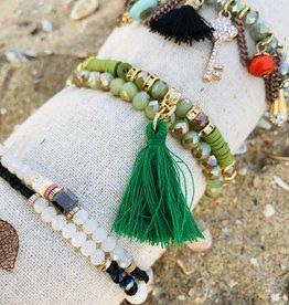 Juleeze Armbandje Koraal Groen