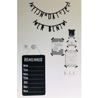 Krijtbord Remember