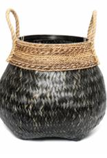 Bazar Bizar Belly Basket Black