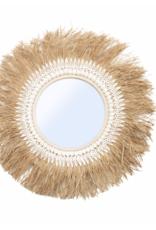 Bazar Bizar The Raffia Ginger Mirror