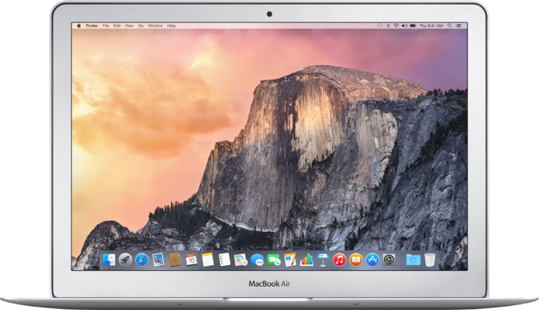 Macbook Air 13 inch (Early 2015) - 4GB RAM - 128GB SSD