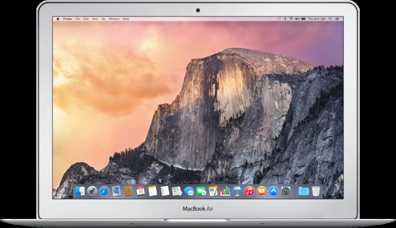 Macbook Air 13 inch (Early 2015) - 4GB RAM - 256GB SSD