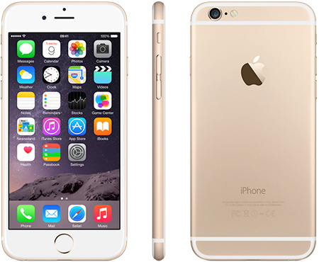 iPhone 6 | 32GB | Goud | Premium refurbished