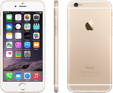 iPhone 6   64GB   Goud   Premium refurbished