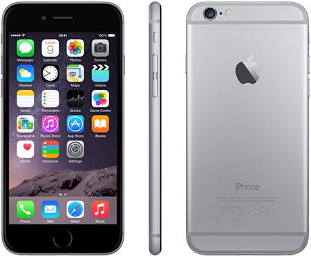 iPhone 6   64GB   Space Grijs   Premium refurbished