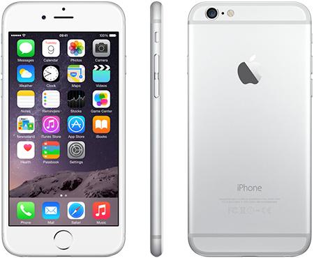 iPhone 6 Plus   64GB   Zilver   Premium refurbished