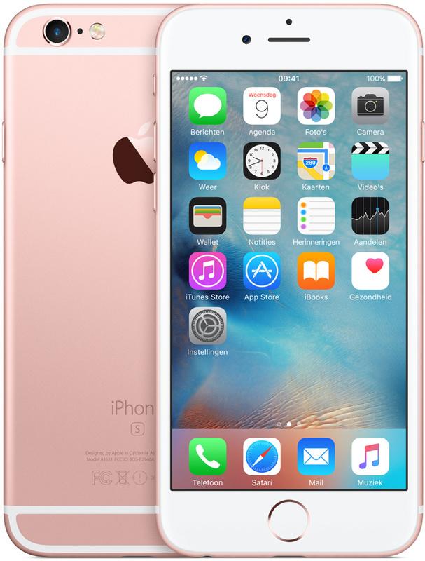 iPhone 6s   32GB   Rosé Goud   Zo goed als nieuw
