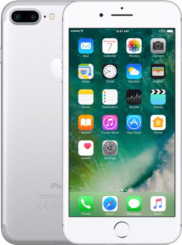 iPhone 7 Plus   128GB   Zilver   Zo goed als nieuw