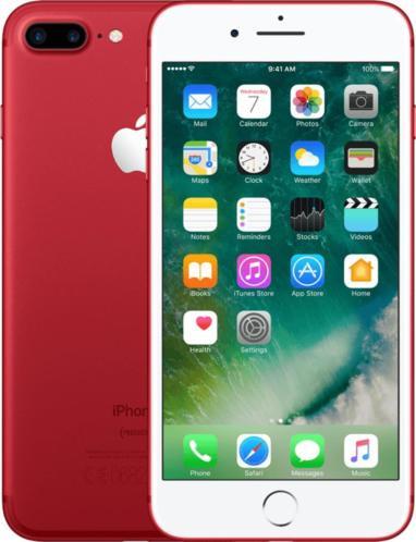 iPhone 7 Plus   256GB   Rood   Premium refurbished