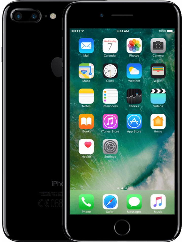 iPhone 7 Plus   32GB   Gitzwart   Licht gebruikt