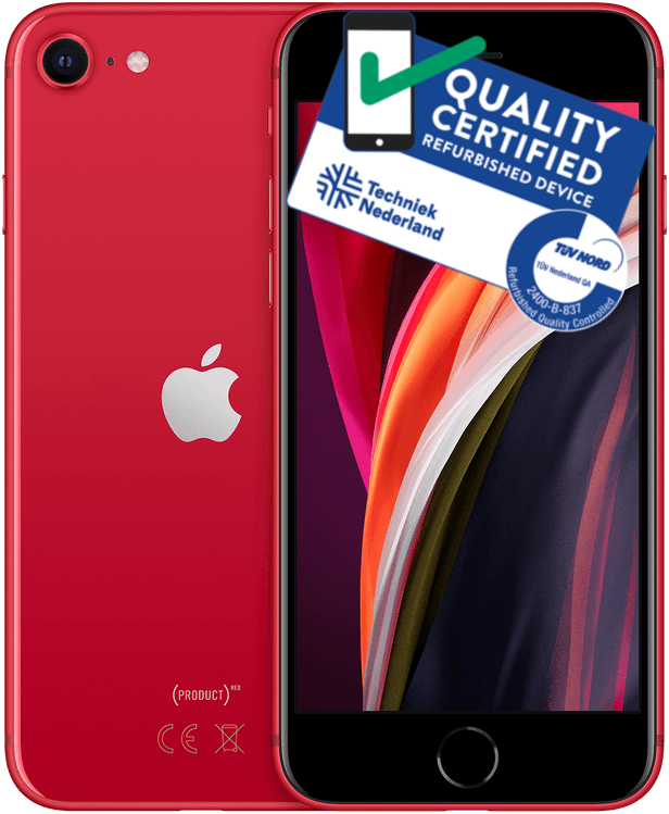 iPhone SE 2020 | 64GB | Rood | Zichtbare gebruikerssporen