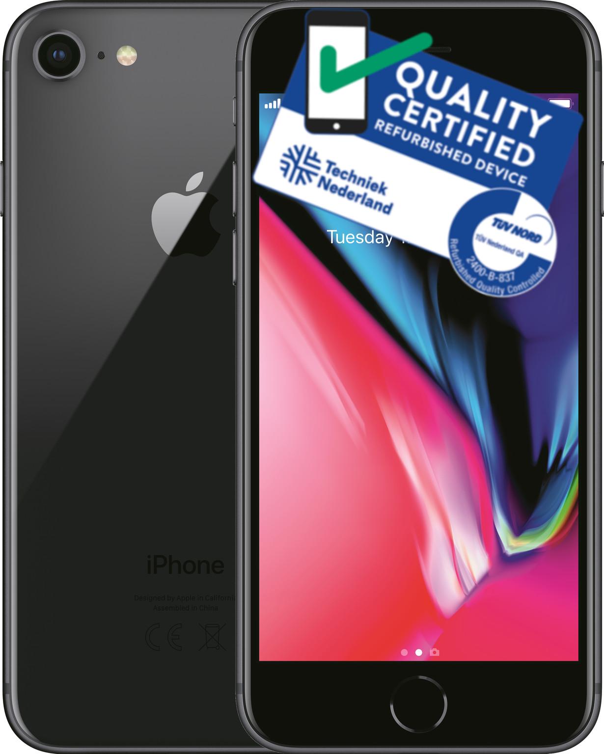 iPhone 8 | 64GB | Space Grijs | Lichte gebruikerssporen
