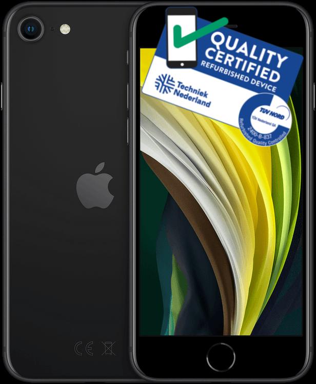 iPhone SE 2020 | 64GB | Zwart | Lichte gebruikerssporen