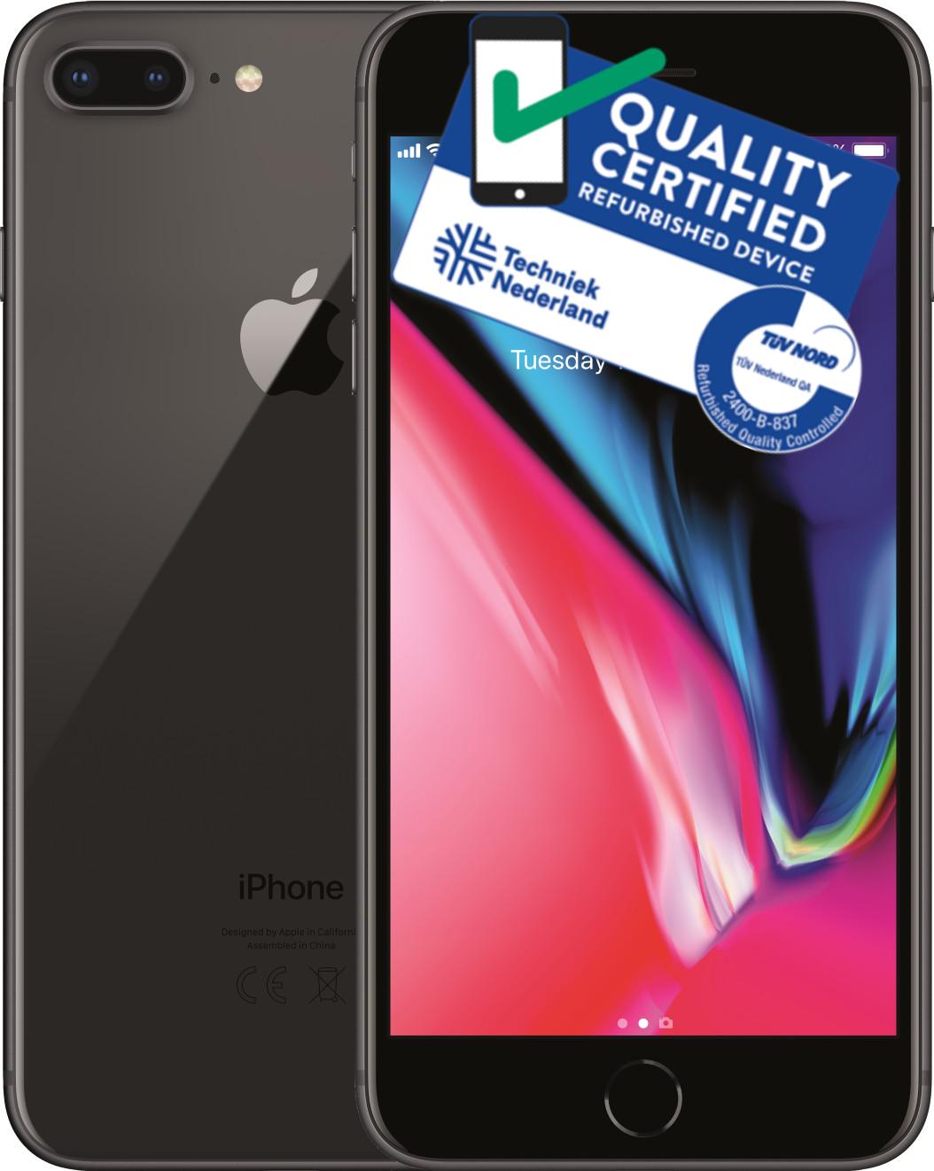 iPhone 8 Plus   256GB   Space Grijs   Zo goed als nieuw(Nieuw staat) Tweedehands