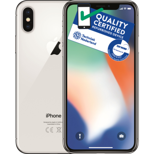Apple iPhone X | 64GB | Zilver