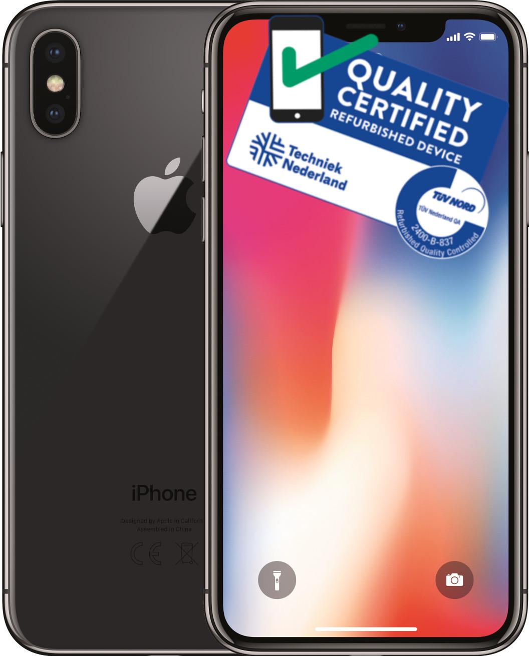 iPhone X | 64GB | Space Grijs | Lichte gebruikerssporen