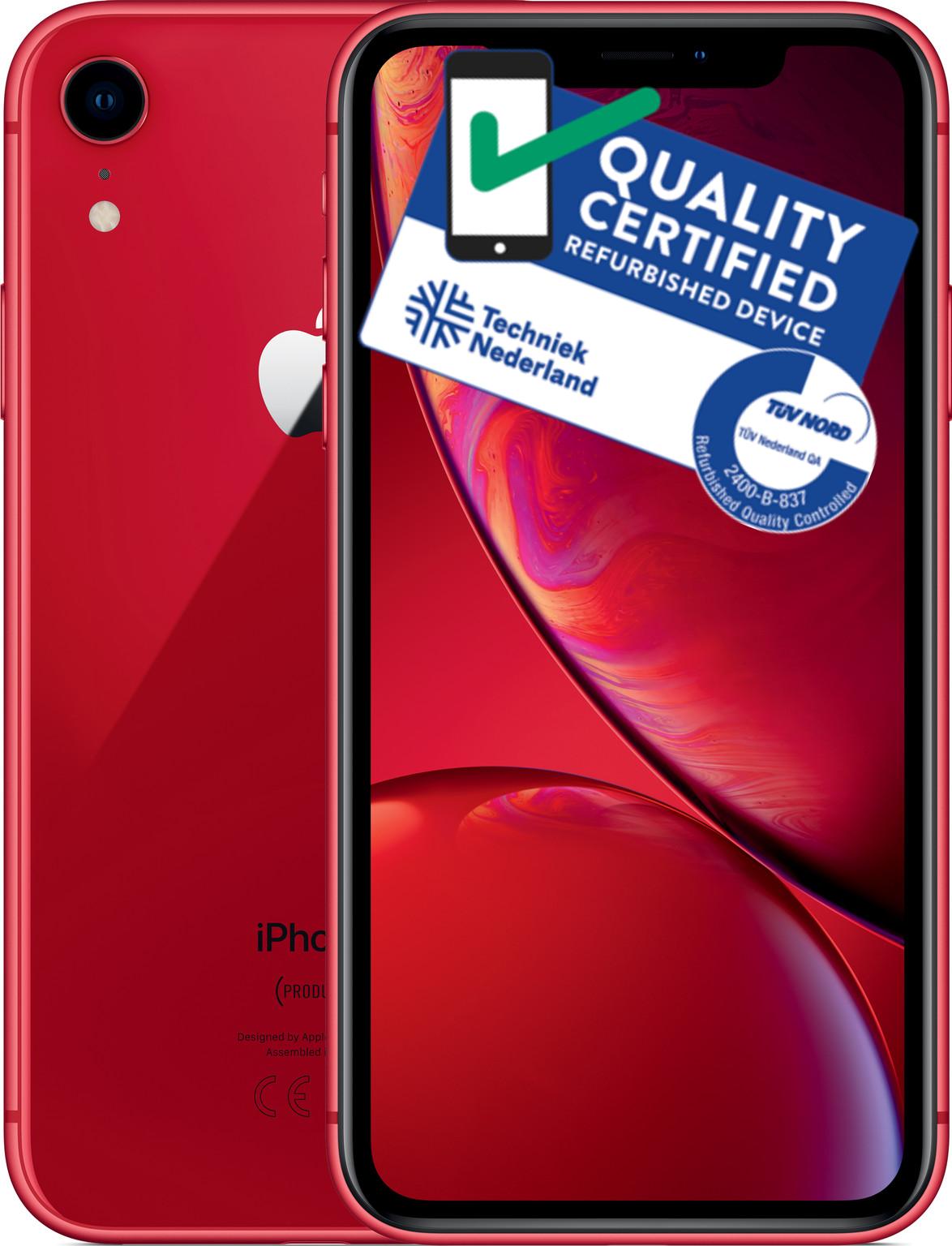 iPhone Xr | 64GB | Rood | Lichte gebruikerssporen