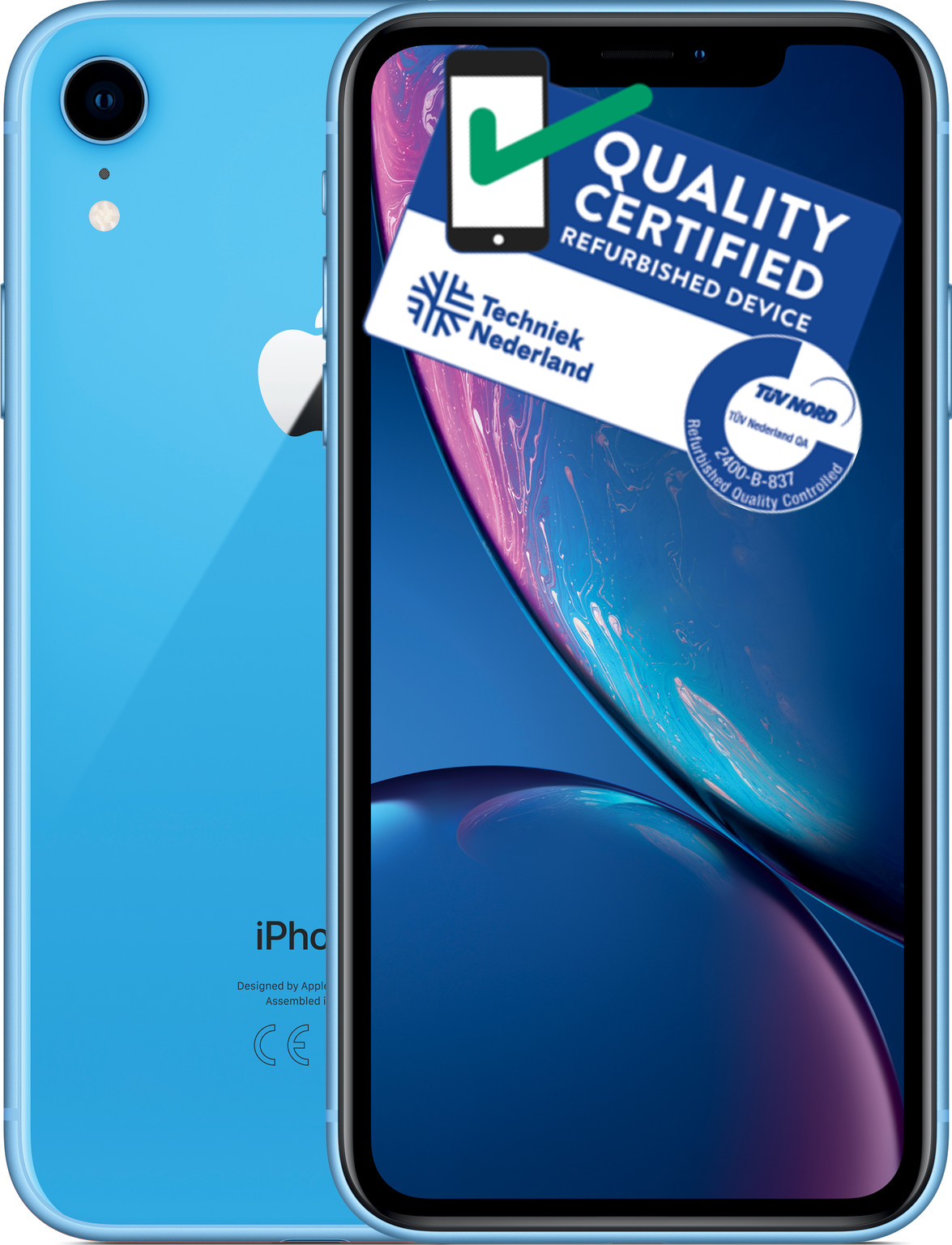 iPhone Xr | 64GB | Blauw | Lichte gebruikerssporen