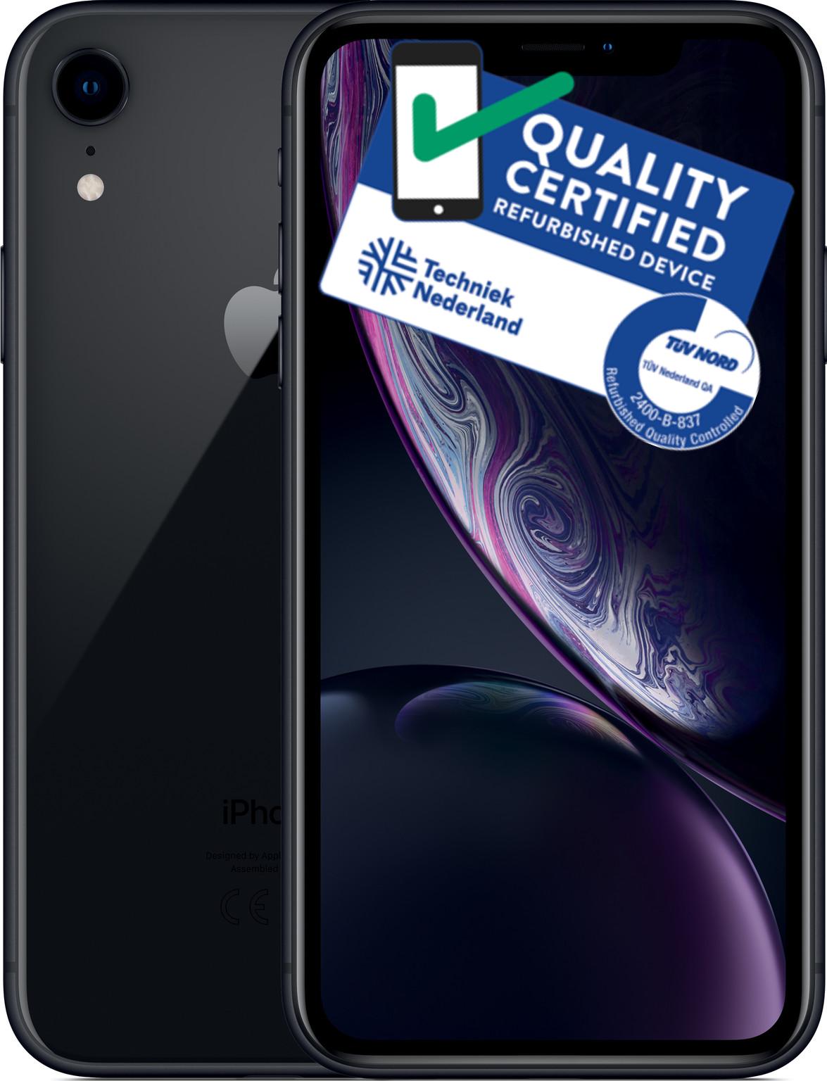 iPhone Xr | 64GB | Zwart | Zichtbare gebruikerssporen