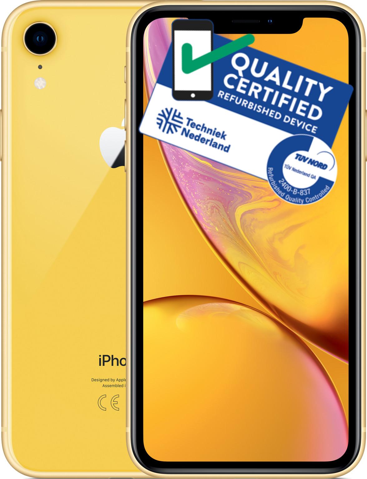iPhone Xr | 64GB | Geel | Lichte gebruikerssporen
