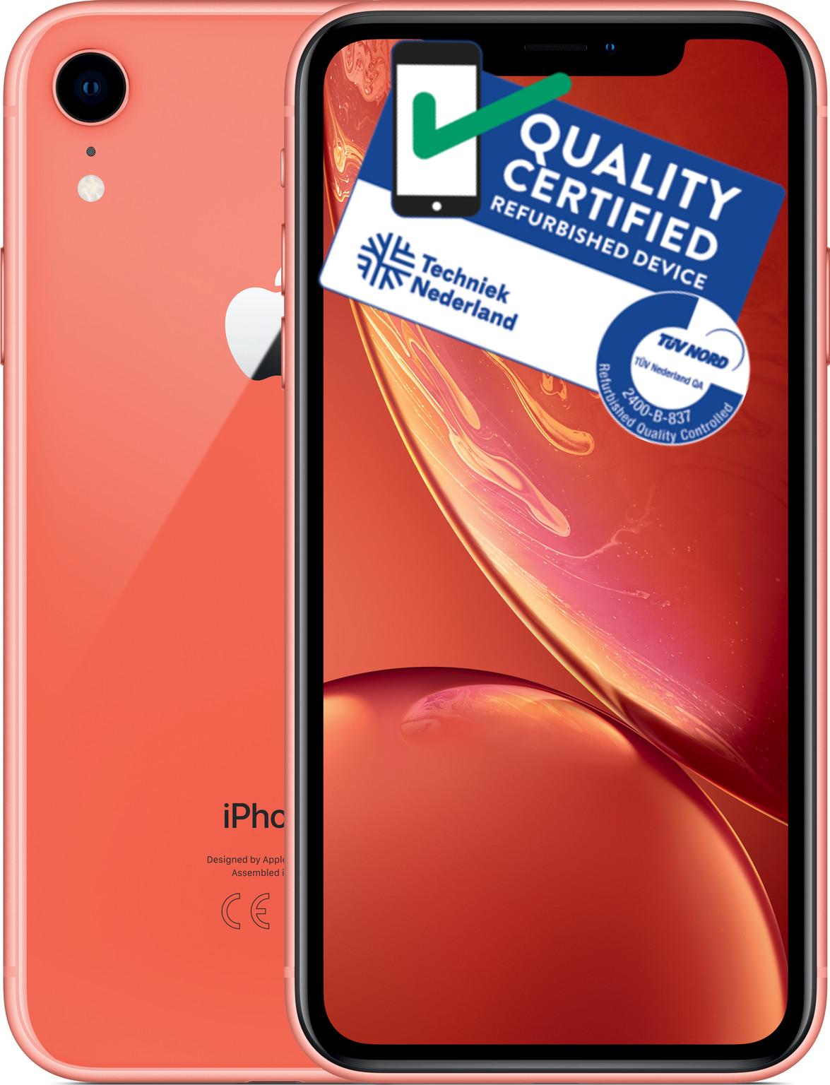 iPhone Xr | 64GB | Koraal | Zo goed als nieuw