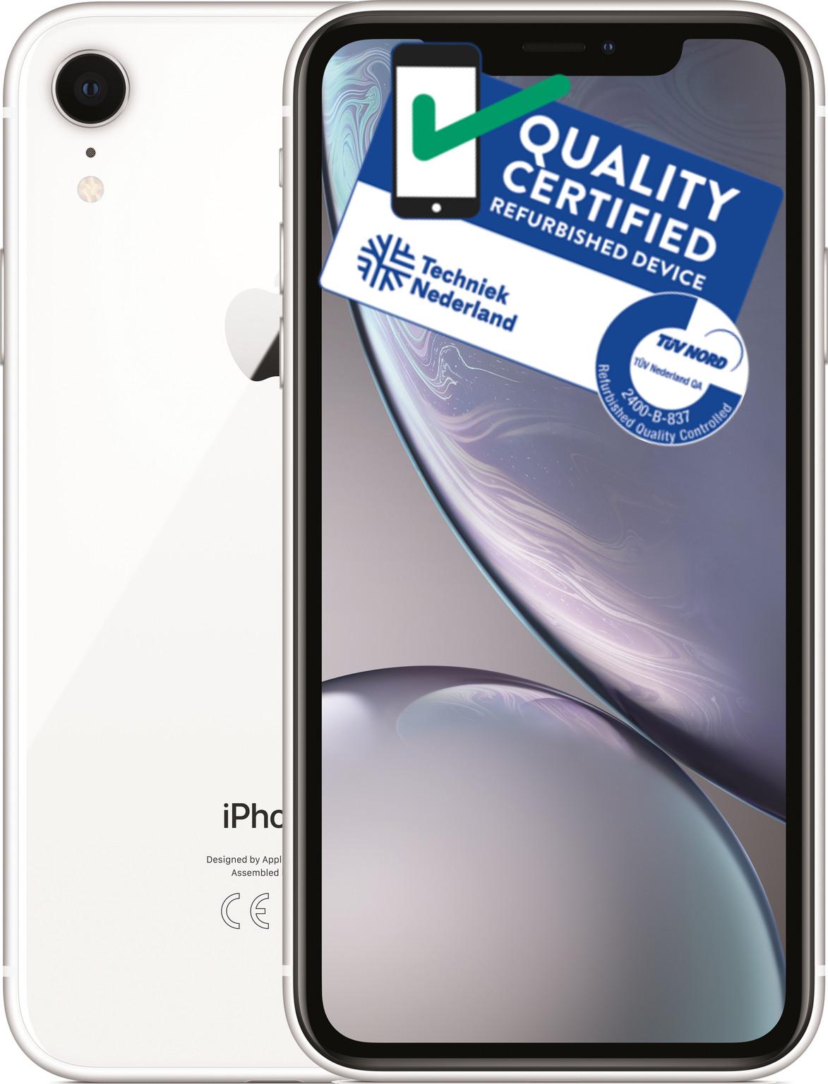 iPhone Xr | 64GB | Wit | Lichte gebruikerssporen