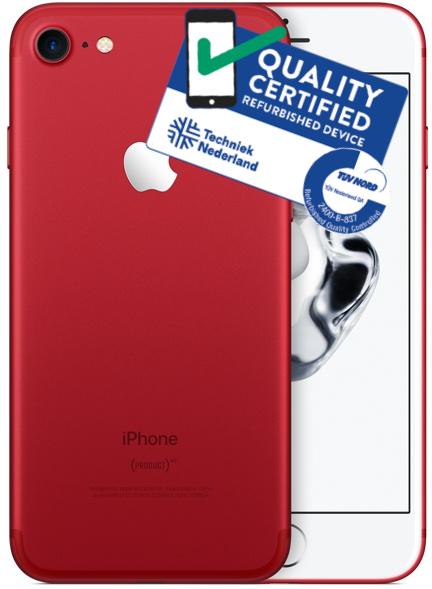 iPhone 7   128GB   Rood   Zo goed als nieuw