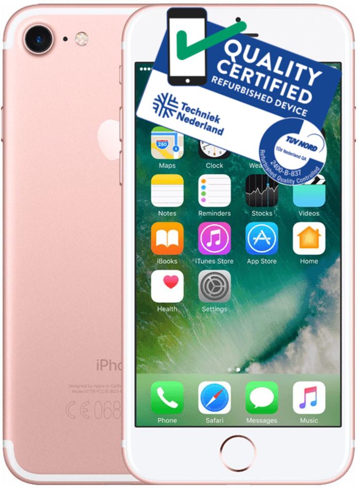 iPhone 7   128GB   Rosé Goud   Lichte gebruikerssporen