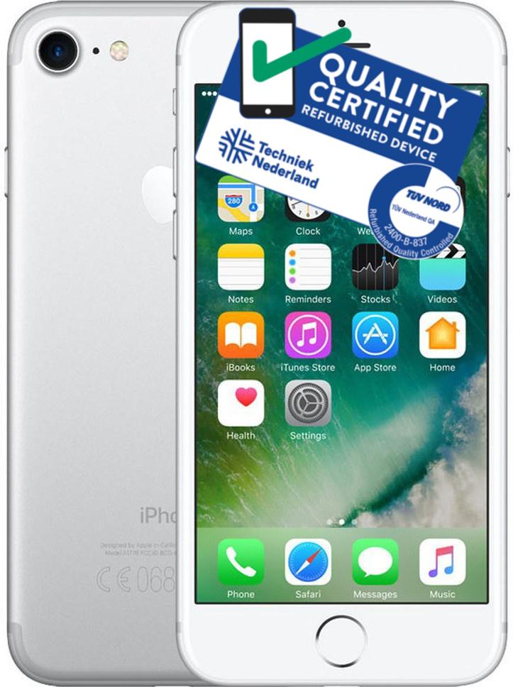 iPhone 7 | 128GB | Zilver | Lichte gebruikerssporen ACTIE PRIJS! OP=OP Tweedehands