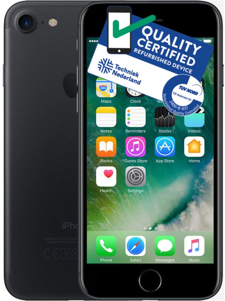 iPhone 7 | 128GB | Zwart | Lichte gebruikerssporen ACTIE PRIJS! OP=OP Tweedehands