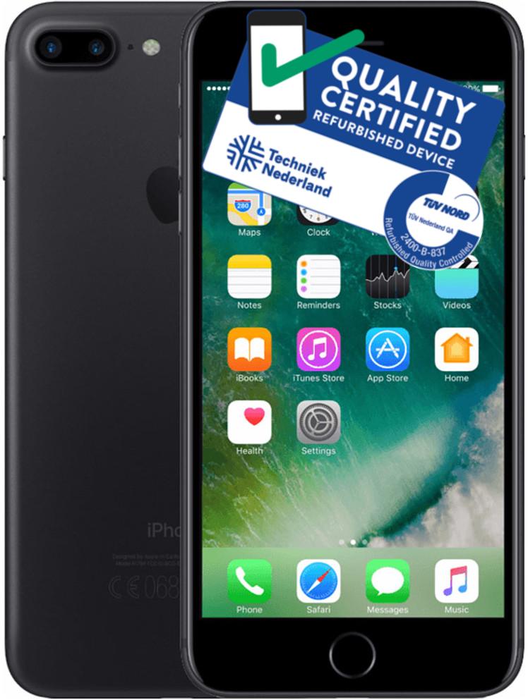 iPhone 7 Plus | 128GB | Zwart | Lichte gebruikerssporen Tweedehands