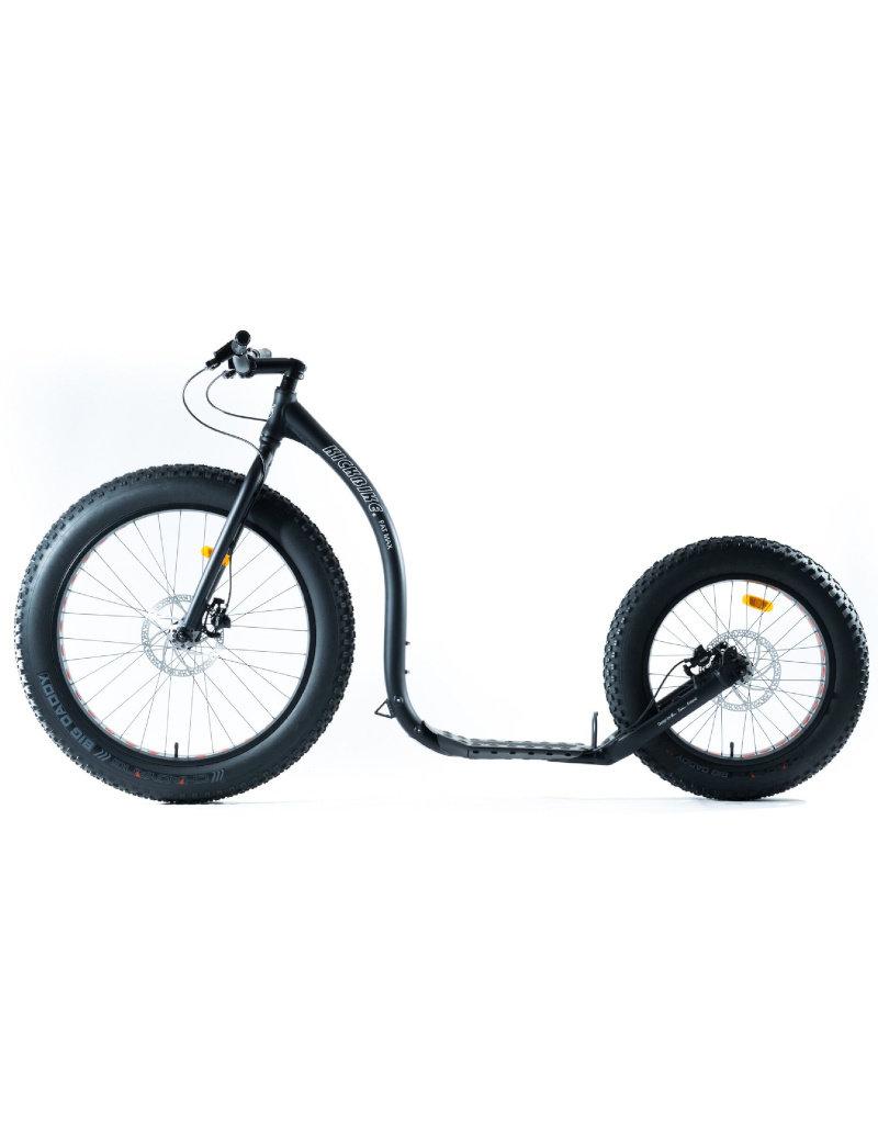 Kickbike Kickbike Fat Max step zwart