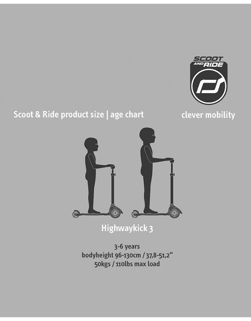 Scoot and Ride Scoot and Ride Highwaykick 3