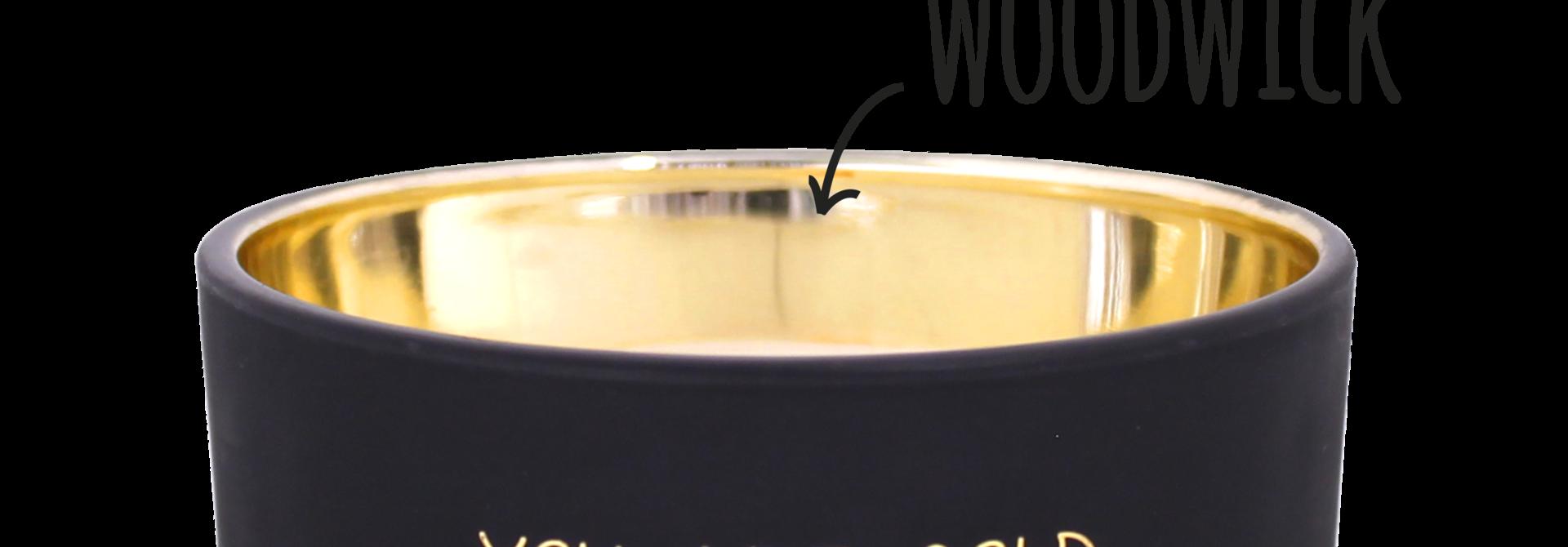 Bio sojakaars met geur - YOU ARE GOLD - Sandalwood Spice