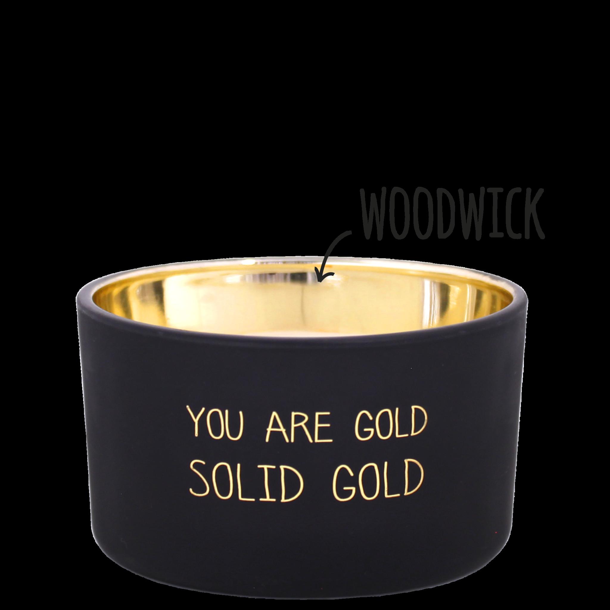 Bio sojakaars met geur - YOU ARE GOLD - Sandalwood Spice-1