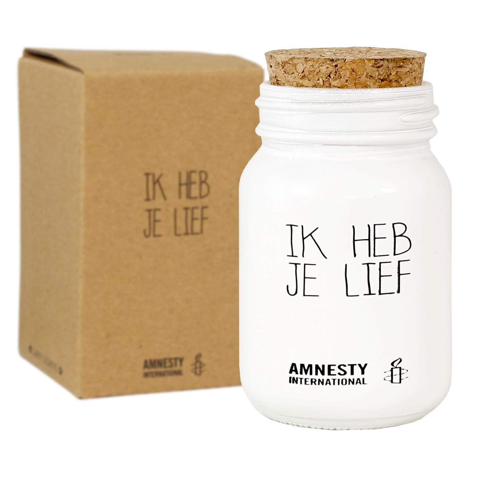 Bio Sojakaars - IK HEB JE LIEF - Geur Fresh Cotton-1