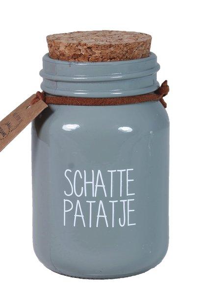 Bio Sojakaars - SCHATTEPATATJE - Geur Velvet Musk