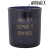 My Flame Lifestyle Bio Sojakaars - DECEMBER TO REMEMBER - Geur Winter Glow