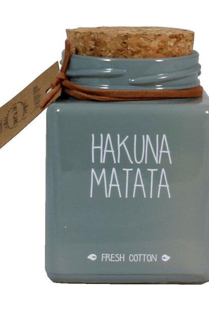 Bio Sojakaars - HAKUNA MATATA - Geur Fresh Cotton