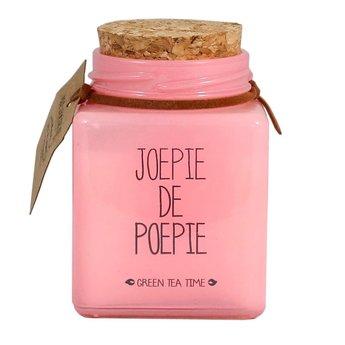 My Flame Lifestyle Bio Sojakaars - JOEPIE DE POEPIE - Geur Green Tea Time