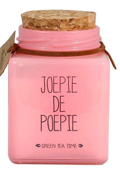 Bio Sojakaars - JOEPIE DE POEPIE - Geur Green Tea Time