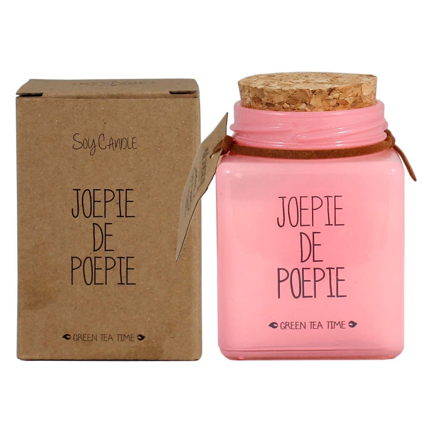 Bio Sojakaars - JOEPIE DE POEPIE - Geur Green Tea Time-2