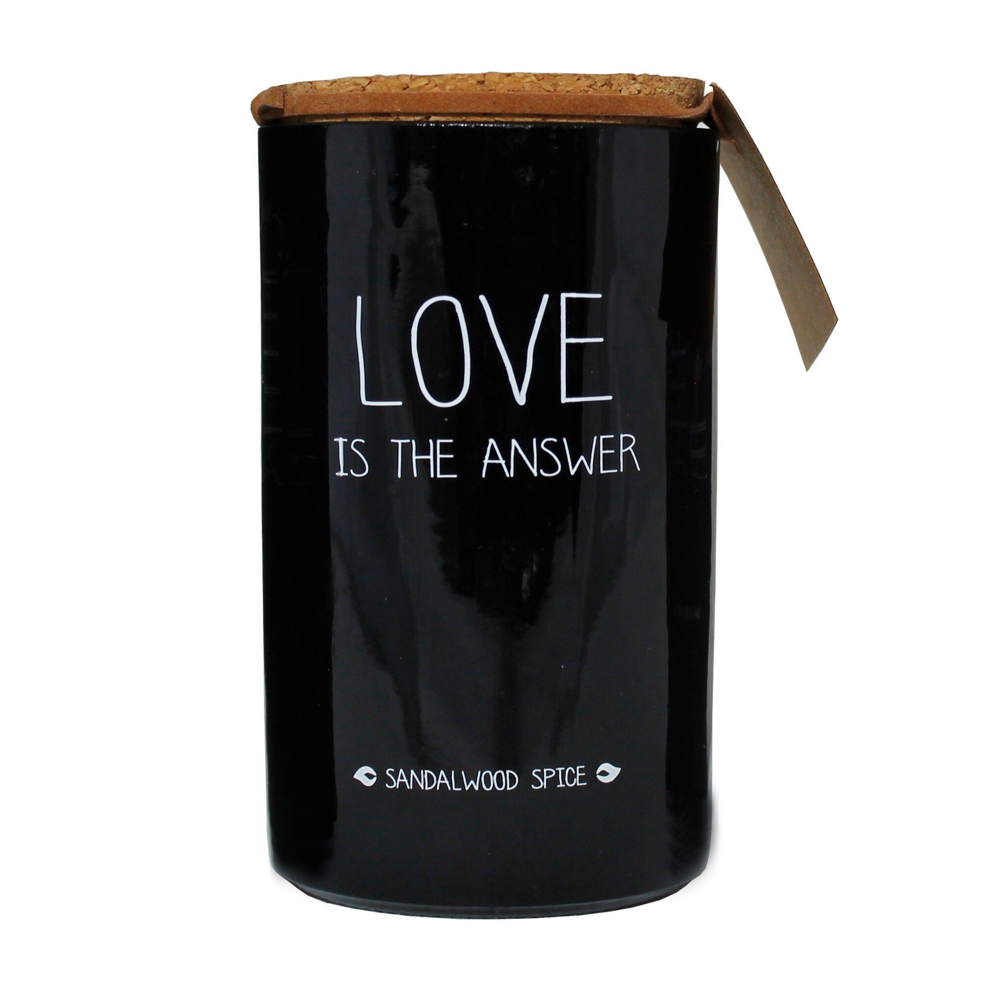 Bio Sojakaars - LOVE IS THE ANSWER - Geur Warm Cashmere-1
