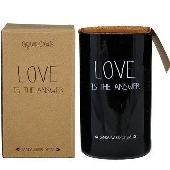 My Flame Lifestyle Bio Sojakaars - LOVE IS THE ANSWER - Geur Warm Cashmere