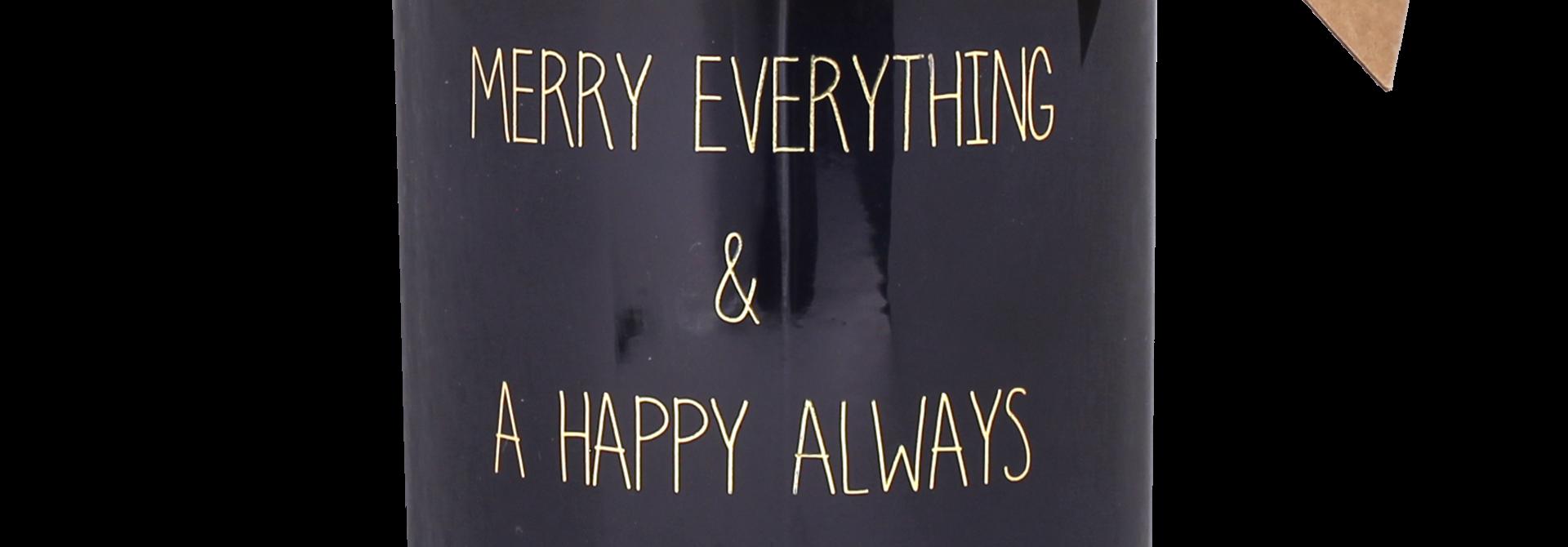 Bio Sojakaars - MERRY EVERYTHING - Geur Winter Glow
