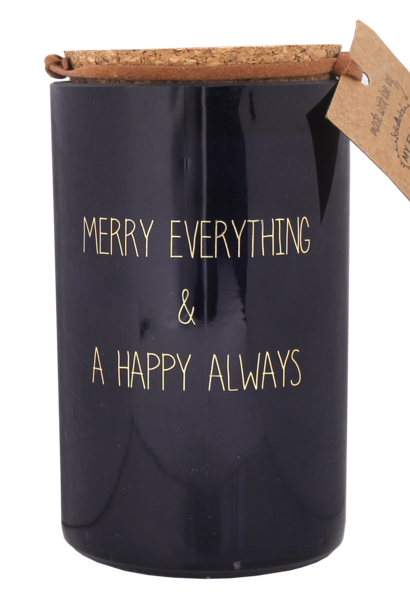 Bio Sojakaars - MERRY EVERYTHING - Geur Winter Glow